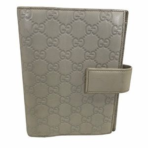 Gucci Wallet Diary Cover cream leather